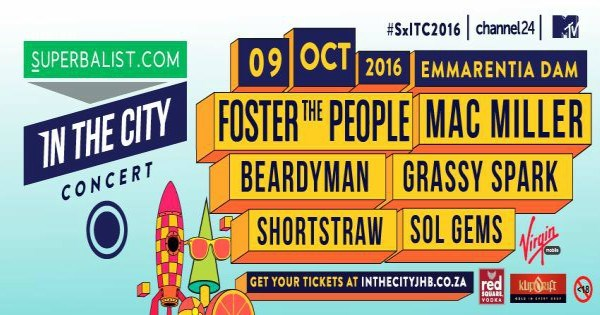 Superbalist In The City Concert