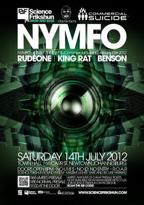 Nymfo  Party@Town Hall  Events  Johannesburg Live