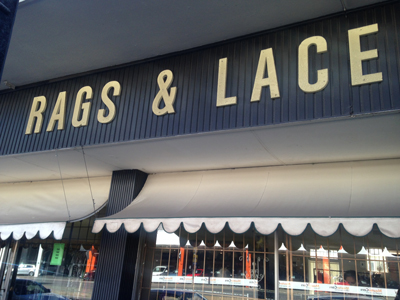 Rags clothing store