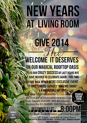 New Year 39 S At Living Room Party The Living Room Events Johannesburg Live